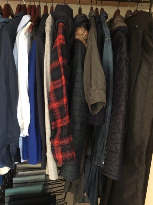 衣類がまわる暮らしを考えてみよう。自分で考えないと、いつまでたっても、ごちゃごちゃです。